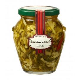 Zucchine a filetti